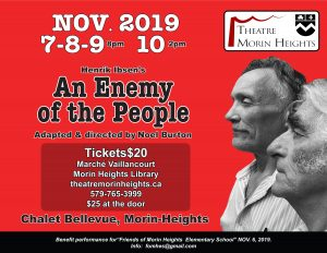 An Enemy Of the People - Theatre Morin Heights